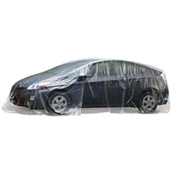 Slip-N-Grip® Clear No Print Car Cover