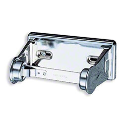 San Jamar® Locking Toilet Tissue Dispenser -  Chrome