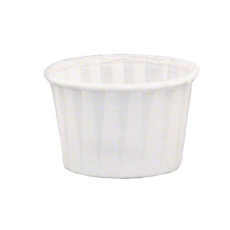Solo® Treated Paper Soufflé Portion Cup - 3 1/2 oz.