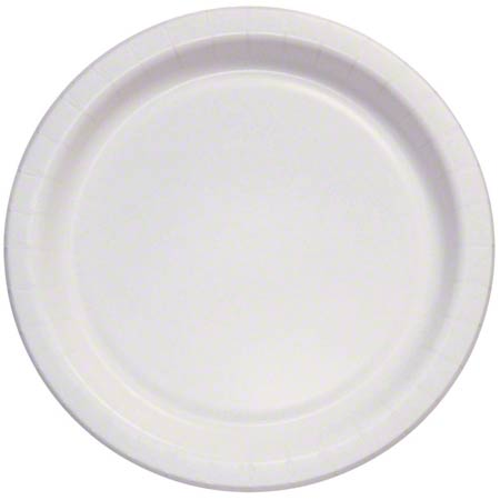 """Solo® Eco-Forward® White Plate - 6"""" Med. Wt, Deep Well"""