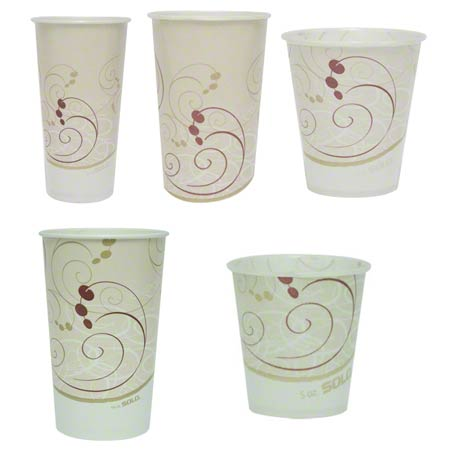 Solo® Symphony™ Waxed Paper Cold Cups - 12 oz.