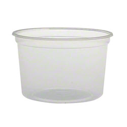 Solo® Translucent MicroGourmet™ Food Containers