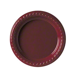 """Solo® Party Plastic Plate - 6"""", Red"""