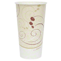 Solo® Symphony™ Double Poly Paper Cold Cup - 24 oz.