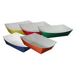 SQP Solid Color Food Trays