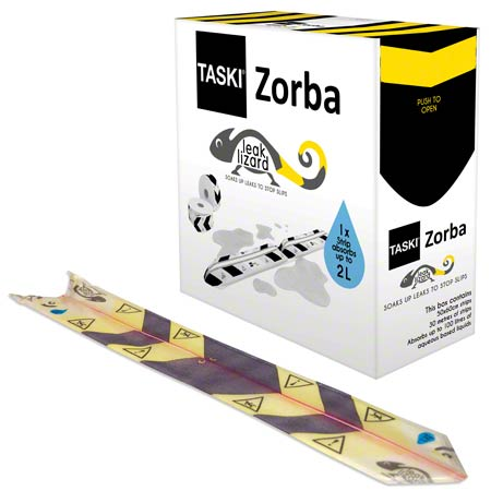 Taski® Zorba Leak Lizard Absorbent Disposable Strip