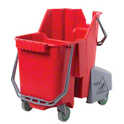 Unger® Smart Color Restroom 30L Bucket - 8 Gal., Red