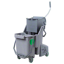Unger® Smart Color™ Dual Bucket System - 8 Gal., Gray