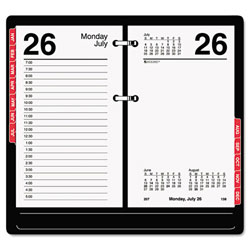 "At-A-Glance® 2012 Desk Calendar Refill w/Tabs-3 1/2"" x 6"""