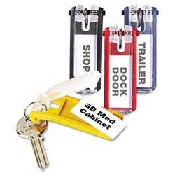 Durable Plastic Key Tags for Locking Key Cabinets