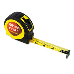 "Great Neck Yellow/Black ExtraMark Steel Power Tape-1"" x 25'"