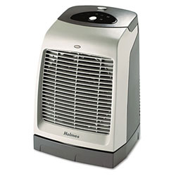 Holmes® Gray One Touch Oscillating Heater/Fan