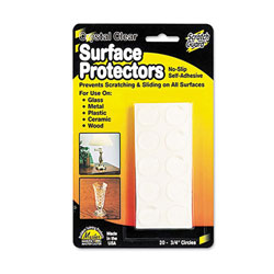 """Scratch Guard Self-Adhesive Clear Surface Protectors - 3/4"""""""