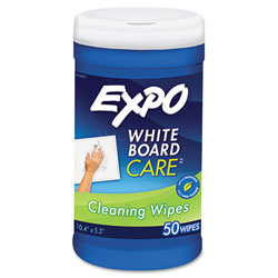 """Expo® Dry Erase Board Cleaning Wet Wipes - 6"""" x 9"""""""
