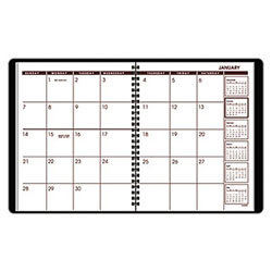 Designer Collection At-A-Glance® Monthly Planner - Black
