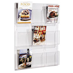 SAFCO Clear Literature Display Rack