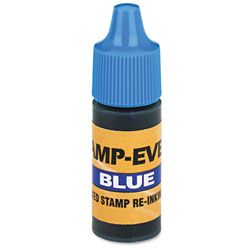 Blue Refill Ink for Clik! & Universal Stamps - 7 ml.