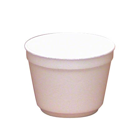 WinCup® White Foam Food Container - 12 oz.