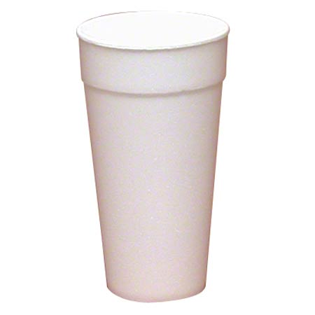 WinCup® White Foam Cup - 20 oz.