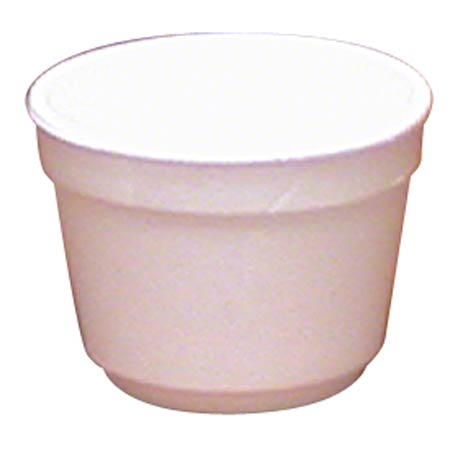 WinCup® White Foam Food Container - 4 oz.