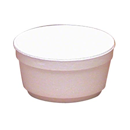 WinCup® White Foam Food Container - 6 oz.