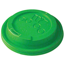 WinCup® Vio® Biodegradable Dome Sip Through Lid - Green