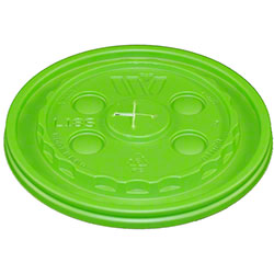 WinCup® Vio® Biodegradable Straw Slot Lid - Green