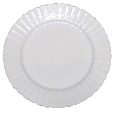 EMI Yoshi Resposables™ Clear Dinner Plate - 10 1/4""